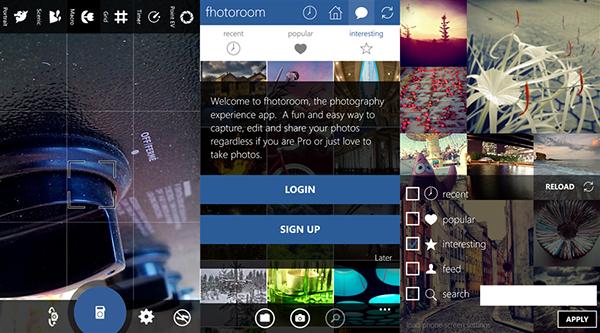 WP platformunun fotoğraf uygulamalarından Fhotoroom güncellendi