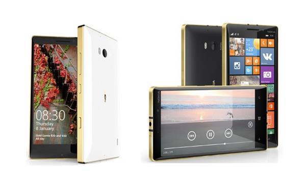 Lumia 930 ve 830 modellerinin altın sarısı rengini satışa sundu