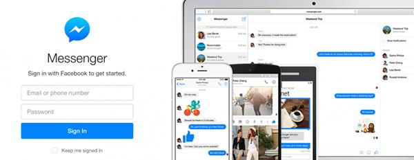 Web için Facebook Messenger yayınlandı