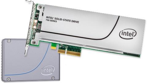 Intel'den PCIe 3.0 x4 ve NVMe arayüzüne sahip yeni üst seviye SSD serisi: Intel 750 Series