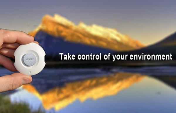 Endüstrinin en hassas hava durumu takip cihazı WEZR, her zaman yanınızda geliyor