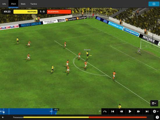 Football Manager Classic 2015 iPad'e geldi
