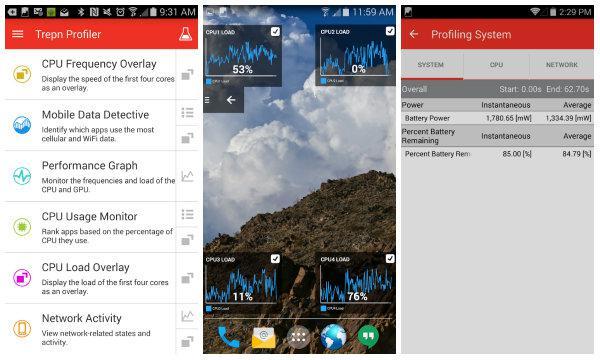 Qualcomm Trepn Profiler ile Android cihazlarınız detaylı olarak inceleniyor
