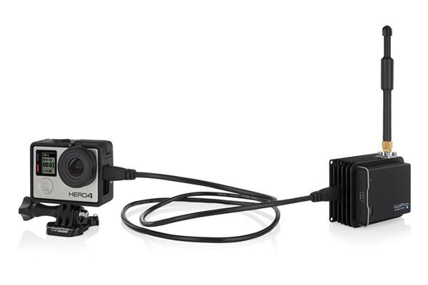 GoPro'dan kendi kameraları için ufak ve hafif canlı yayın vericisi