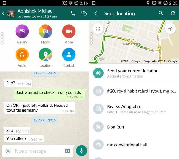 WhatsApp, Android tarafında Materyal tasarım anlayışına geçiş yaptı