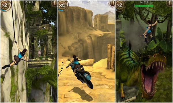Lara Croft fırtınası mobil platformlarda esmeye devam ediyor