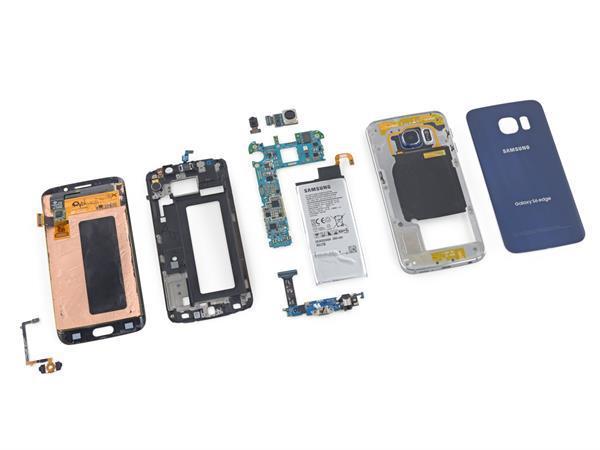 Samsung Galaxy S6 Edge yüksek üretim maaliyetiyle iPhone 6 Plus'ı geride bırakıyor