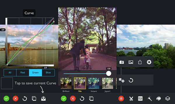 iOS uyumlu fotoğraf düzenleme uygulaması iDarkroom ücretsiz yapıldı