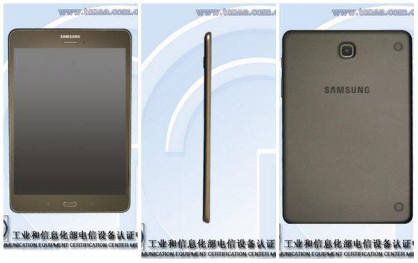 Samsung Galaxy Tab 5 8.0 Çin'de onaylandı