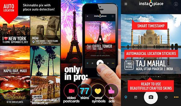 InstaPlace'in iOS uygulaması da bugüne özel olarak ücretsiz