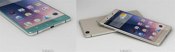 Oppo R7 modeline ait olduğu iddia edilen yeni görseller paylaşıldı