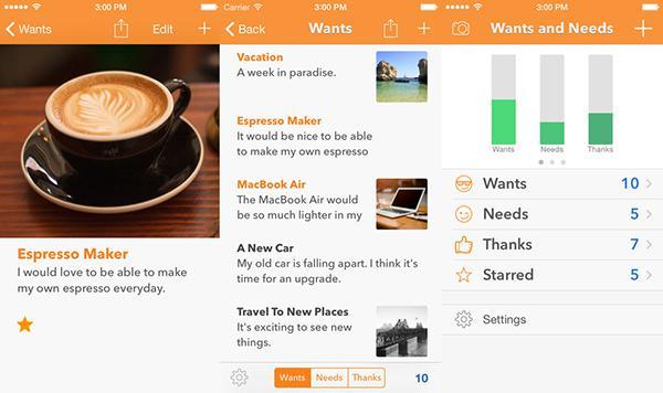 iOS uyumlu Wants and Needs ücretsiz yapıldı