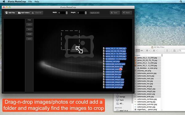 Mac özel iFunia PhotoCrop da ücretsiz yapıldı