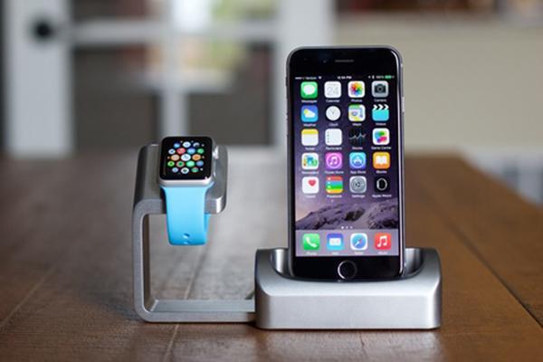 Apple iPhone ve Watch için modüler şarj standı: Duet