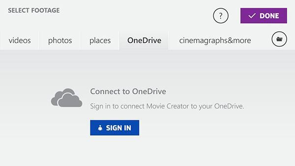 Windows Phone için Movie Creator Beta güncellendi