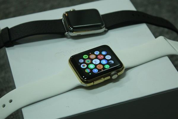 Altın kaplatılan Apple Watch 1400 dolara mal edilebiliyor