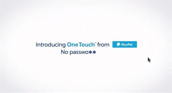 Paypal'ın kolay ödeme sistemi One Touch artık web sitelerinde de aktif