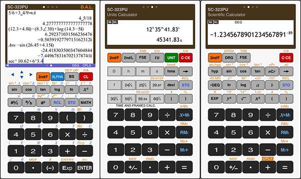 iOS uyumlu Scientific Calculator artık ücretsiz