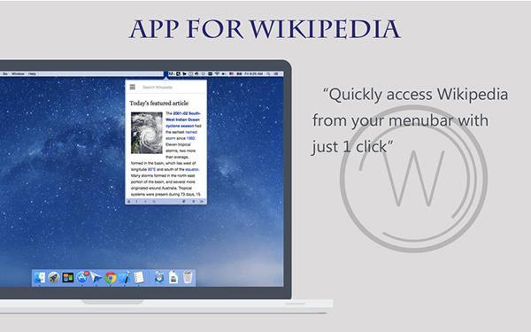 Aktif Wikipedia kullanıcılara özel yeni Mac uygulaması: QuickSearch
