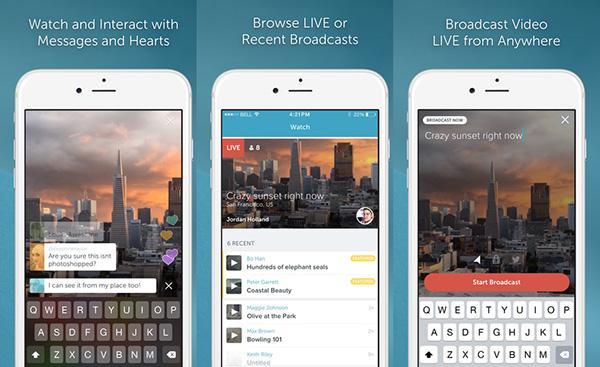 iOS için Periscope bir güncelleme da aldı
