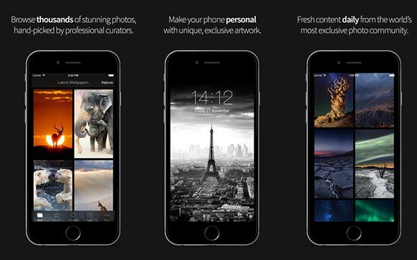 iOS için 1x Wallpapers uygulaması kullanıma sunuldu