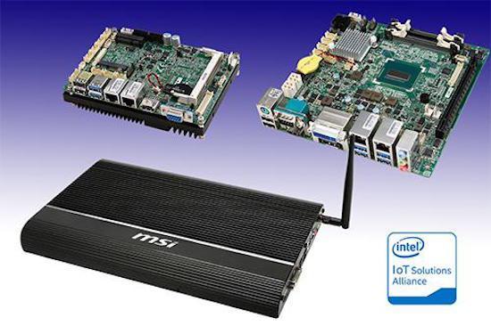 MSI yeni Broadwell çözümlerini kullandığı entegre sistem kartlarını duyurdu