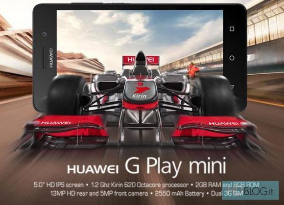 Honor 4C'nin Avrupa modeli Huawei G Play Mini Resmiyet kazandı