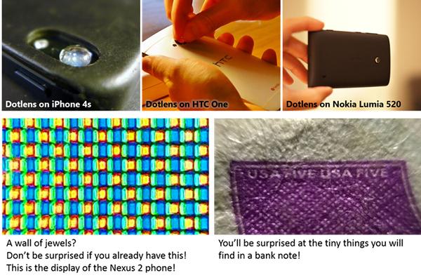 Mobil cihazları mikroskoba çeviren yeni Kickstarter projesi: Dotlens