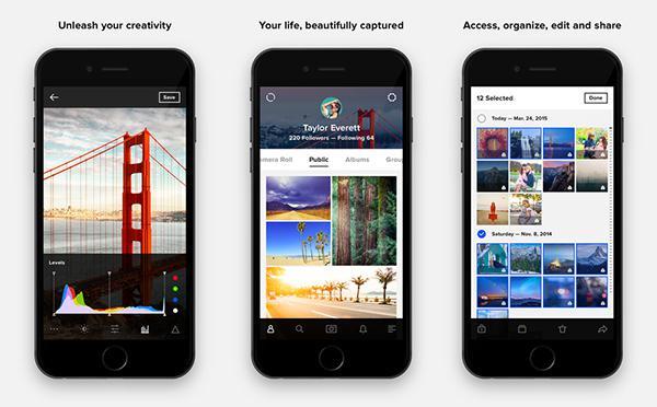 Flickr'in iOS uygulaması güncellendi