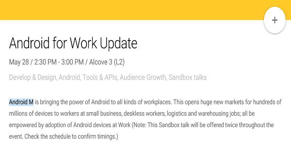 Android M sürümünün ilk işaretleri görünmeye başladı