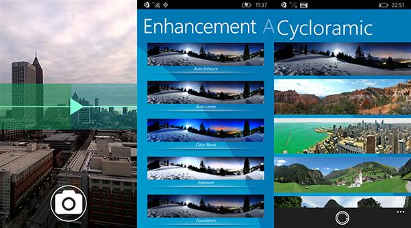 Windows Phone için Cycloramic ücretsiz yapıldı