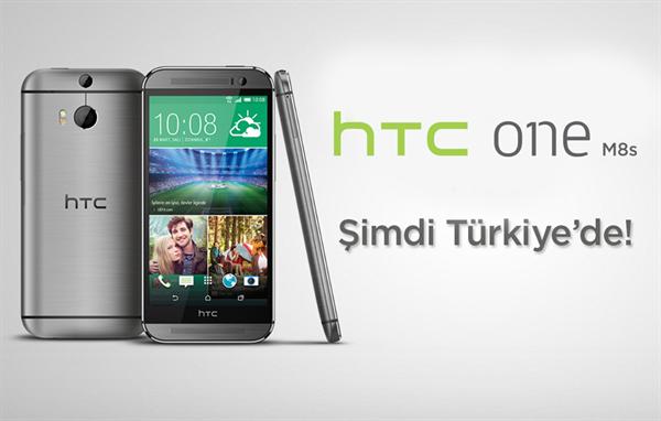 HTC, One M8S modelini ülkemizde de satışa sunacağını açıkladı
