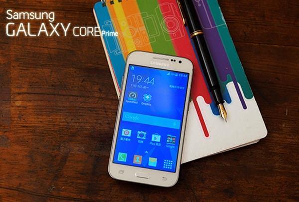 Samsung'dan giriş seviyesi Galaxy Core Prime modeline Lollipop takviyesi