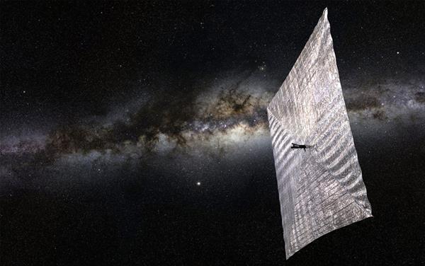 Işığın ittirme gücünü kullanan uzay aracı Kickstarter'da destek arıyor