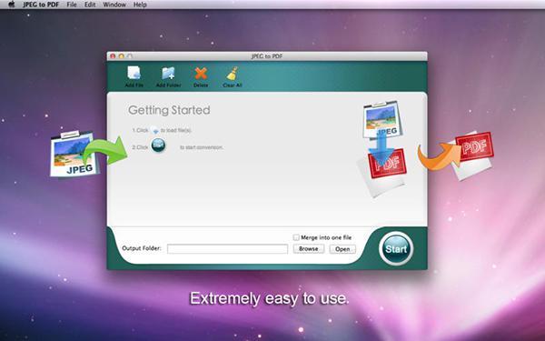 Mac özel JPEG to PDF uygulaması artık ücretsiz