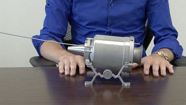 General Electric Havacılık, tamamen üç boyutlu yazıcıyla hazırlanan jet motorunu ateşledi
