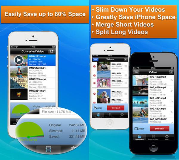 Video odaklı iOS uygulaması Video Slimmer App, kısa bir süre için ücretsiz yapıldı