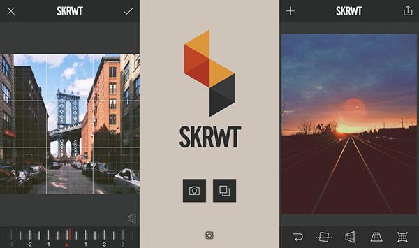 Fotoğraf odaklı iOS uygulaması SKRWT inidirime girdi