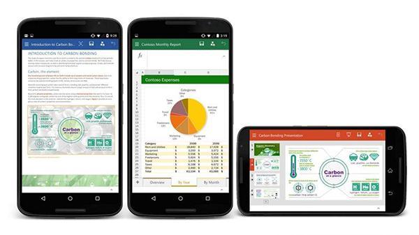 Microsoft Office'in yeni önizleme sürümü Android desteğine kavuştu