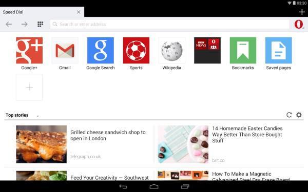 Android için Opera Mini güncelledi