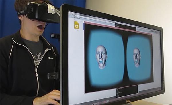 İlerleyen dönemde Oculus Rift yüz mimiklerini de sanal ortama aktarabilir