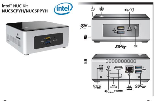Intel NUC konsepti güncelleniyor