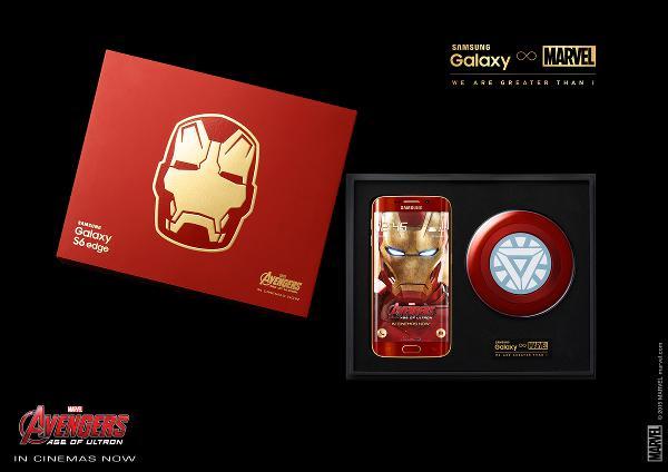 Samsung Galaxy S6 Edge Iron Man Limited Edition resmiyet kazandı