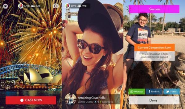 Sadece 15 saniyelik canlı yayınlara imkan tanıyan yeni iOS uygulaması: Outcast
