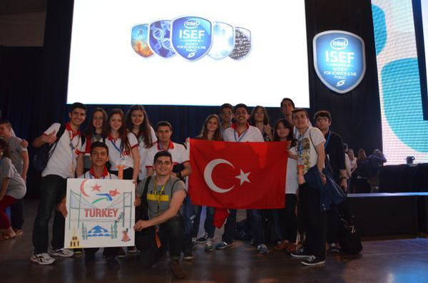 ISEF 2015 uluslararası bilim fuarından ülkemize 4 ödül