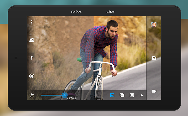 Android uyumlu Camera MX güncellendi