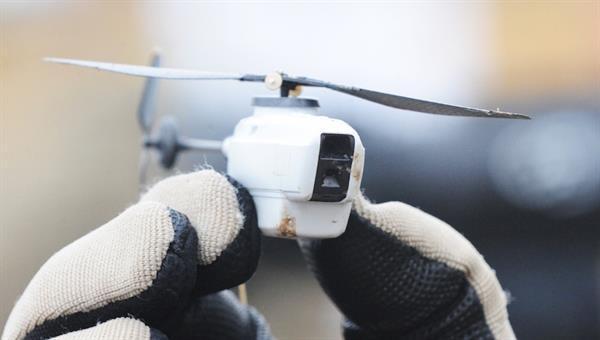 ABD donanması üstün özelliklere sahip mikro drone test uçuşlarına başladı
