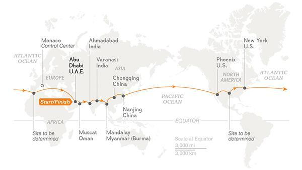 Solar Impulse pasifik okyanusunu geçeceği uçuşuna başladı