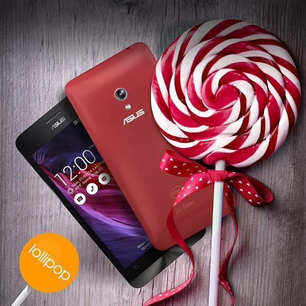 Asus'un Zenfone ailesi için Lollipop güncellemesi yayınlandı