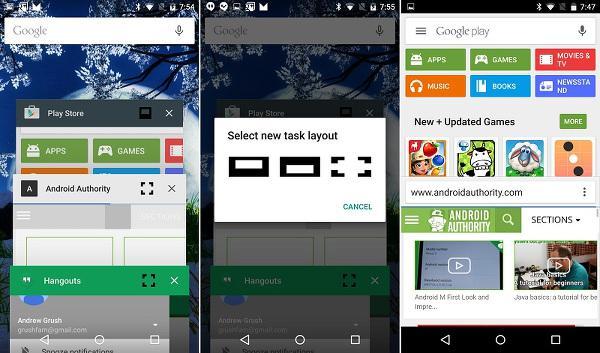 Android M ile çoklu pencere özelliği geliyor